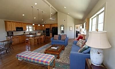 Living Room, 631 Vanderbilt Ave, 1