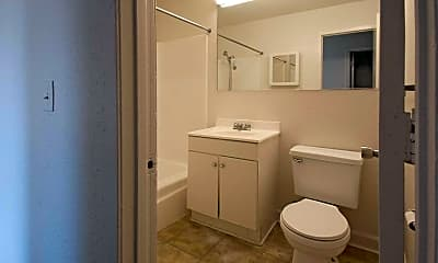 Bathroom, Cedar Crest Apartments, 2