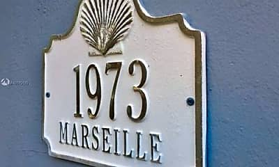 Community Signage, 1973 Marseille Dr, 2