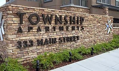 Community Signage, Township Luxury Apartments, 2