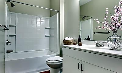 Bathroom, Alpha Mill Apartments, 2