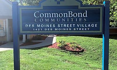Des Moines Street Village, 1