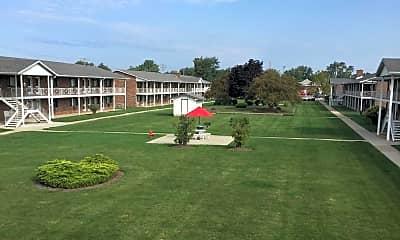 Courtyard, Manor Park, 0