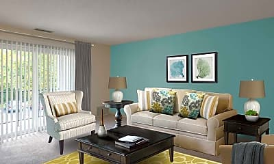 Living Room, eaves Burlington, 1