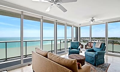 Living Room, 3554 Ocean Dr 1001S, 1