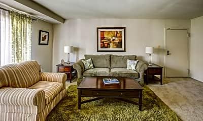 Living Room, White Oaks, 1