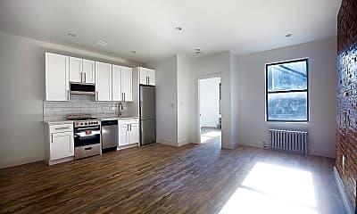 Living Room, 164 W 128th St 2-D, 1