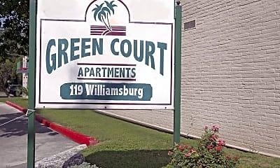 Community Signage, Green Court, 2