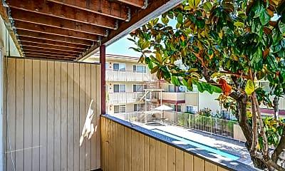 Patio / Deck, Sequoia Grove Apartments, 2