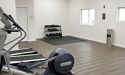 Fitness Weight Room, The Corridor, 2