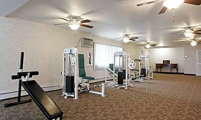 Fitness Weight Room, The Riviera, 2