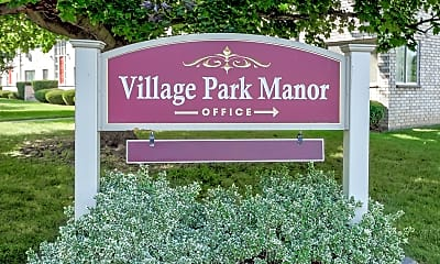 Community Signage, Village Park Manor, 2
