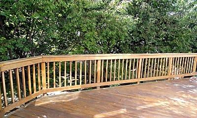 Patio / Deck, 9419 Colonade Dr, 1