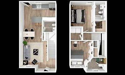 Living Room, 360 Needmore Rd, 2