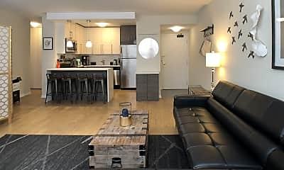 Living Room, 33 E Cedar St., Apt. 3D, 1