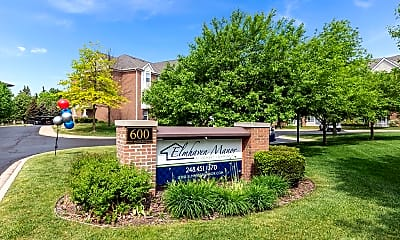 Community Signage, Elmhaven Manor, 0