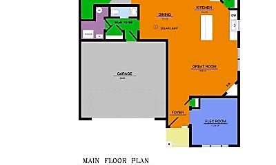 Bathroom, 7377 Kalland Cir NE, 2