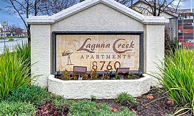 Community Signage, Laguna Creek, 2