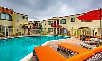 Pool, Carlsbad Coast Apartments, 0