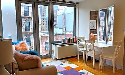 Living Room, 636 E 11th St 6E, 1