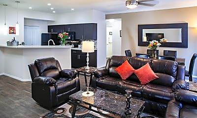 Living Room, 4111 N Drinkwater Blvd F110, 0
