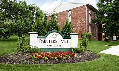 Community Signage, Painters Mill Apartments, 2