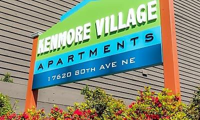 Community Signage, 17620 80th Ave NE, 2