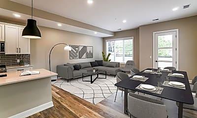 Living Room, 244 Vester Ave, 1