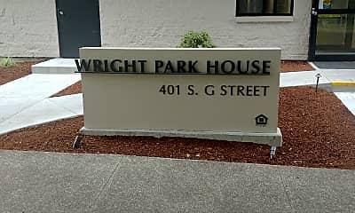 Wright Park House, 1