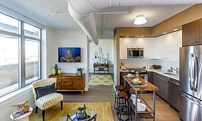 Kitchen, The View Ballston, 0