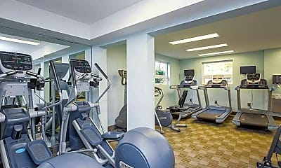 Fitness Weight Room, Fairfield Crossing, 2