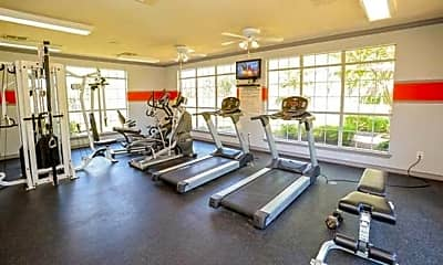 Fitness Weight Room, Lincoln At Wolfchase, 1