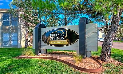 Community Signage, Buffalo Springs Apartments, 2
