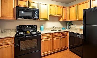 Kitchen, Oasis Apartment Homes, 1