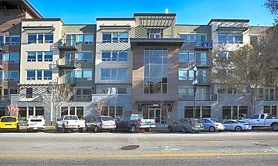 Building, North Sixth Apartments, 1