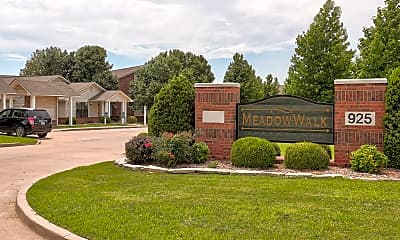 Community Signage, Meadow Walk, 2