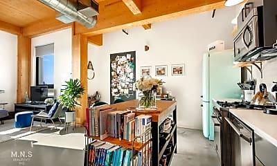 Living Room, 360 Wythe Ave 414, 1