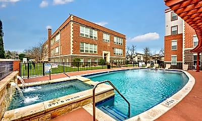 Pool, West Campus Lofts, 0