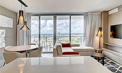 Living Room, 4010 S Ocean Dr R2506, 0