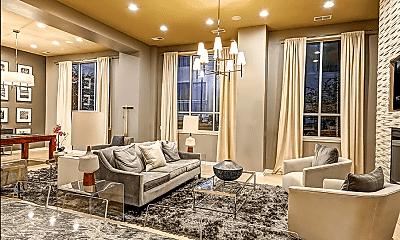 Living Room, 145 Granby Street Unit 411, 2