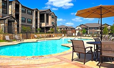 Pool, Town Creek Village, 1