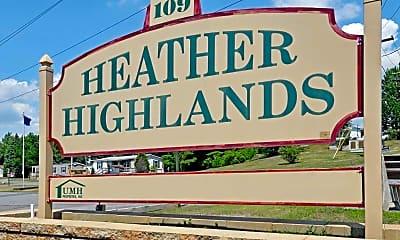 Community Signage, Heather Highlands, 2