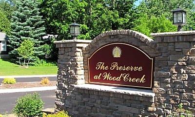 Community Signage, Preserve at Wood Creek Apartments, 2