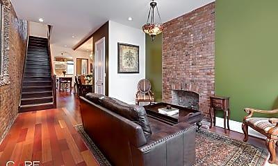 Living Room, 235 W 122nd St, 1