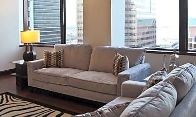 Living Room, Gallery 515 Luxury Apartments @ The Millennium Center, 0