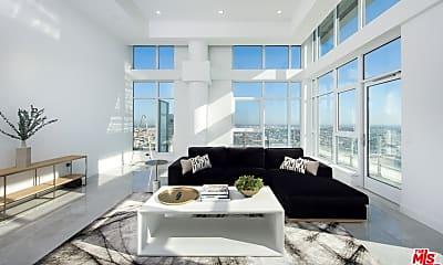 Living Room, 1201 S Hope St 4004, 1