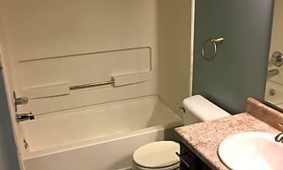 Bathroom, Meadow View Apartments, 2