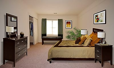 Bedroom, Heritage Square Apartments, 2