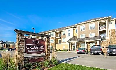 Community Signage, Fox Crossing Apartments, 2