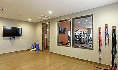 Fitness Weight Room, North Main Apartments at Steel Ranch, 2